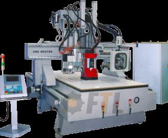 Fresadora CNC con ATC
